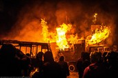 Why did the unrest escalate in the past two weeks?