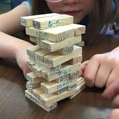 Math Fact Jenga