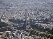 Sky View of the Eiffel Tower