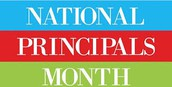 October is Principals Month!