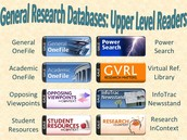 Advanced Readers Databases