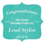 Promoted to Lead Stylist