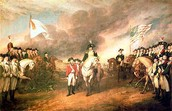 The Surrender of Lord Cornwallis at Yorktown, Virginia, 19 October 1781