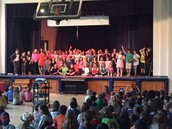 The 5th graders dazzled at the Talent Show Encore.