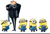 What Gru says to a minion-Terse Verse