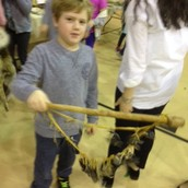 Yes, that is a musical instrument made from DEER TOE NAILS!