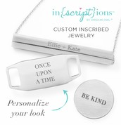 Or Personalize your locket with an Inscription Plate