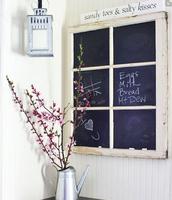 Six-Pane Chalkboard