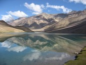 "Come To India To see the ""Chandertal Lake"""