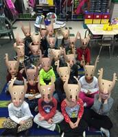 Kindergarten Reindeer!