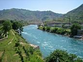 Vakhsh River.