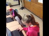 2nd Graders on Task!!!