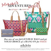 Getaway Bag & Hang On Special