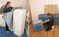 We'll pad your furniture to avoid damage.