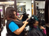 Cosmetology: Peggy O'Neal and Annette King, Instructors