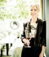 Caroline Styne at her LA restaurant, Lucques