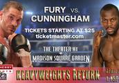Tyson Fury vs Steve Cunningham Live Streaming - Watch Boxing