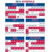 Texas Rangers Schedule 2014