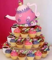 Cupcake Tea Tower