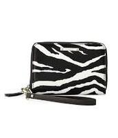 Chelsea Tech Wallet--Zebra $25
