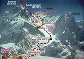 The route to the summit.
