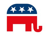 Elephant: the symbol of the party