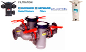 Hayward Filter contains different sizes of filters