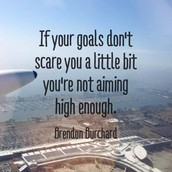 Goals are great!  We all need goals!