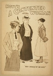 Women wanted to have the right to vote