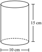 Surface Area of a Cylinder Example