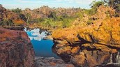 One of the many beautiful areas of the Kakadu ranges