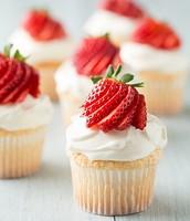 Angel Food Cupcake