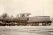 Older steam locomotive