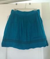 LOFT Turquoise Skirt