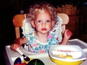 Taylor as a baby.