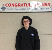 "Cody Dollison Gates is named Career and Technology ""Outstanding Student""!"