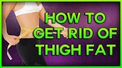 How to get rid of Thigh Fat, How to Lose Weight in your Thighs & How to get rid of Lower Belly Fat