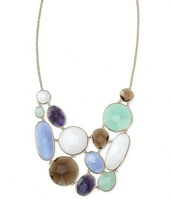 SOLD--Oasis Bib Necklace--$95