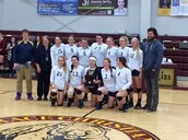 Homer Volleyball Wins Regions!