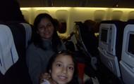 My sister Stellita (en el avion pal smore)