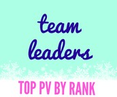 Top 5 by Rank - Team Leaders