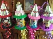 Variedad de piñatas