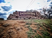 You can visit the outdoors at Enchanted Rock State Natural Area!