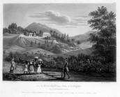 """Gracehill Plantation, Antigua, British West Indies, 1830"