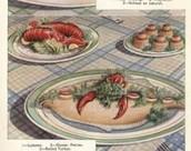 A plain family's meal