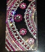 Pink Savvy Girl - iPhone 5s-5 Crystallized Case