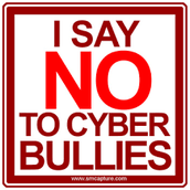 Say no to cyber bullying
