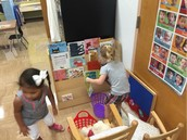 Little Helpers In Ms. Stover's Class!