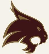 La Mascota de la universidad de Texas State.
