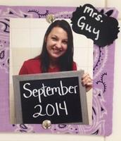 Mrs. September ~ April Guy
